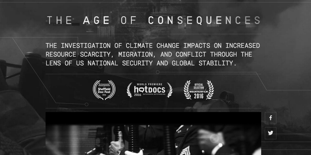 The Age of Consequences Film Header Image